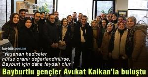 Avukat Hanefi Kalkan tecrübelerini gençlerle paylaştı