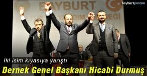 Bayburt Kültür ve Yardım Derneği Genel Başkanı Hicabi Durmuş