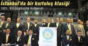 İstanbul'da 101. Yıl Coşkusu