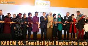 KADEM Bayburt şubesi açıldı