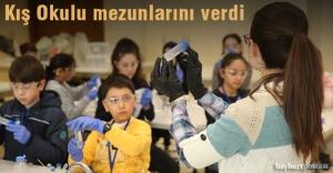 Bayburt Üniversitesi Kış Okulu mezunlarını verdi