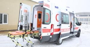 Sağlık Bilimleri Fakültesine ambulans