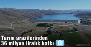 Tarım Arazileri Ekonomiye 36 Milyon Liralık katkı sağladı