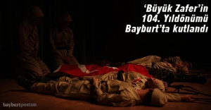 Bayburt'ta '104. Yıl' kutlaması