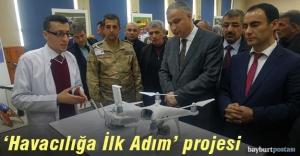 Bayburt'ta 'Model Uçak' kursu açıldı