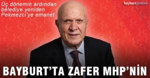 Bayburt'ta zafer MHP'nin