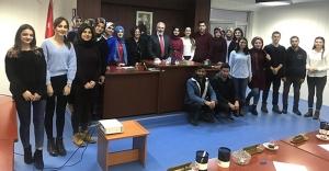 Geleceğin Siyaset Bilimcileri İl Genel Meclisi'ne konuk oldu
