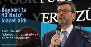 """Prof. Muslu: """"Türkiye'de 934 bin 206 öğrenciye Kur'an eğitimi verilmektedir"""""""