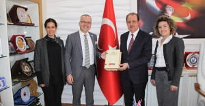 TANAP Heyetinden Rektör Coşkun'a ziyaret