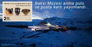 Baksı Müzesi anma pulu ve posta kartı yayımlandı
