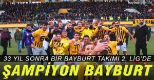 Bayburt İl Özel İdare Gençlikspor 2. Lig'de