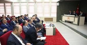 Bayburt'ta İl Koordinasyon Kurulu toplandı
