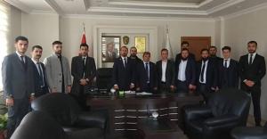 Bayburt Ülkü Ocakları'ndan Belediye ziyaretleri