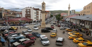 Bayburt'ta trafiğe kayıtlı araç sayısı