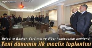 Belediye Meclisinde görevlendirmeler yapıldı