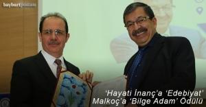 'Bilge Adam' Ödülü ve 'Edebiyat' Ödülü verildi