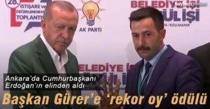 Cumhurbaşkanı Erdoğandan Gürere...