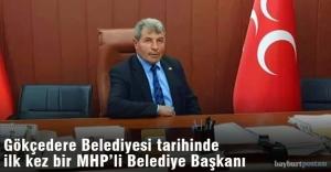 Gökçedere'nin ilk MHP'li Başkanı Yavuz Bakır