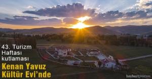 Kenan Yavuz Kültür Evi'nde 43. Turizm Haftası kutlaması