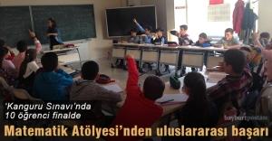 Matematik Atölyesi'nin 10 öğrencisi Kanguru sınavında finalde