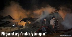 Nişantaşı köyünde yangın