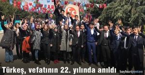 Türkeş, vefatının 22. yıldönümünde anıldı