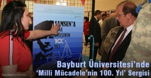 Bayburt Üniversitesi'nde 'Milli Mücadelenin 100. Yılı' sergisi