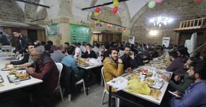 Ramazan sofrası yine Taşhan'da