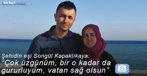 """Seyhan Kapaklıkaya: """"Çok üzgünüm, bir o kadar da gururluyum, vatan sağ olsun"""""""