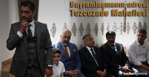 Geleneksel bayramlaşma Tuzcuzade Mahallesi'ndeydi