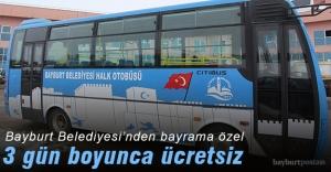 Halk otobüsleri bayram boyunca ücretsiz