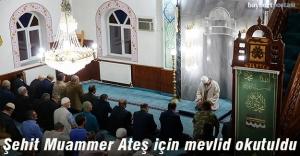 Şehit Muammer Ateş için Çatıksu köyünde mevlid okutuldu