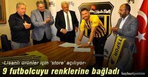 Bayburt İl Özel İdarespor 9 futbolcuyla sözleşme imzaladı
