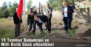 Bayburt'ta 15 Temmuz Demokrasi ve Milli Birlik Günü etlinlikleri