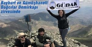GÜDAK ve BAYFOD üyeleri Bayburt'un en yüksek zirvesinde
