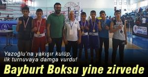 Kurban Yazoğlu Boks Spor Kulübü takım halinde zirvede