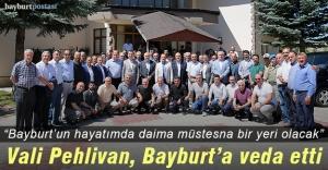 Vali Pehlivan, Bayburt'tan ayrıldı