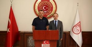 Elazığ Valisi Çetin Oktay Kaldırım'dan Vali Epcim'e ziyaret