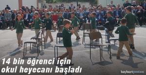 14 bin öğrenci ders başı yaptı