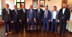 Başkan Pekmezci'den Trabzon ve Rize ziyareti