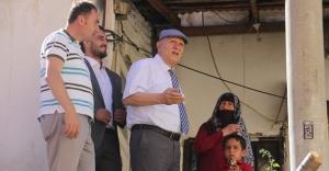 Başkan Pekmezci, Tuzcuzade mahallesinde