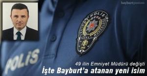 Bayburt#039;un yeni İl Emniyet Müdürü...