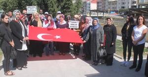 Bayburt'taki STK'lardan Diyarbakır annelerine destek