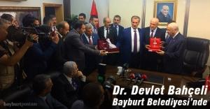 Devlet Bahçeli Bayburt Belediyesi#039;ni...