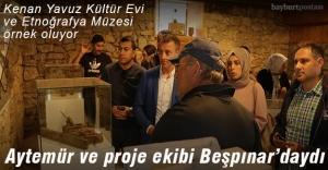 Kenan Yavuz Kültür Evi Etnoğrafya Müzesi örnek oluyor
