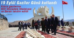 Kıbrıs gazilerine Milli Mücadele Madalyası ve Beratı verildi
