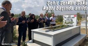 Şehit Serkan Saka şehadetinin yıldönümünde anıldı