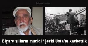 Biçare yılların mucidi Şevki Özdemiri...
