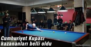Bilardoda Cumhuriyet Kupası sonuçlandı