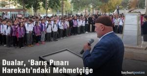 Dualar, 'Barış Pınarı Harekatı'nda görev alan Mehmetçiğe